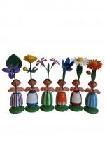 Vorschau: Blumenkinder von WEHA-Kunst als Feld- und Wiesenblumenmädchen, 6 Stück_Bild3