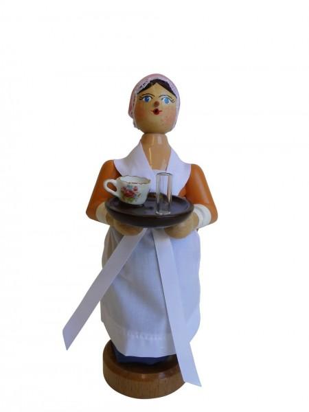 Räuchermann Schokoladenmädchen, 20 cm, Armin Braun Neuhausen/ Erzgebirge – Dieser Räucherfrau ist dem Gemälde Schokoladenmädchen nachempfunden, dass in …