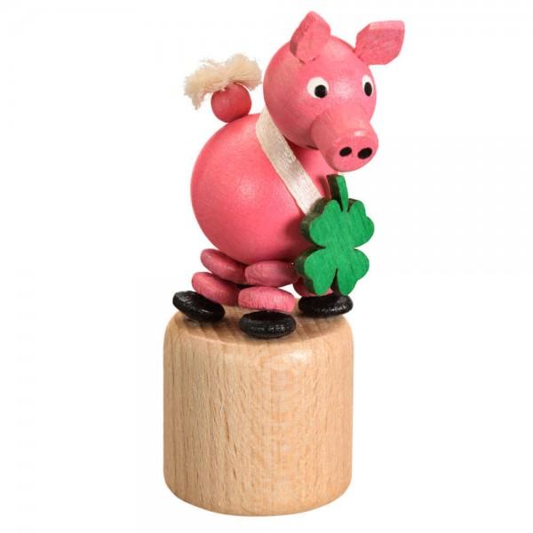 Wackelfigur Glücksschwein von Jan Stephani