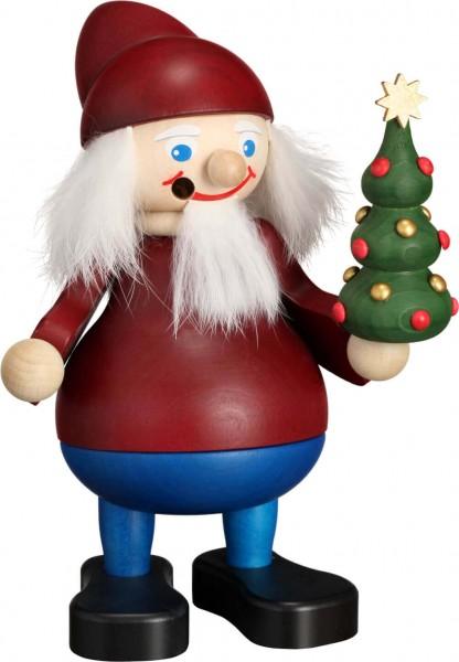 Räuchermann Weihnachtsheinzel mit Baum , 15 cm von Seiffener Volkskunst eG Seiffen/ Erzgebirge