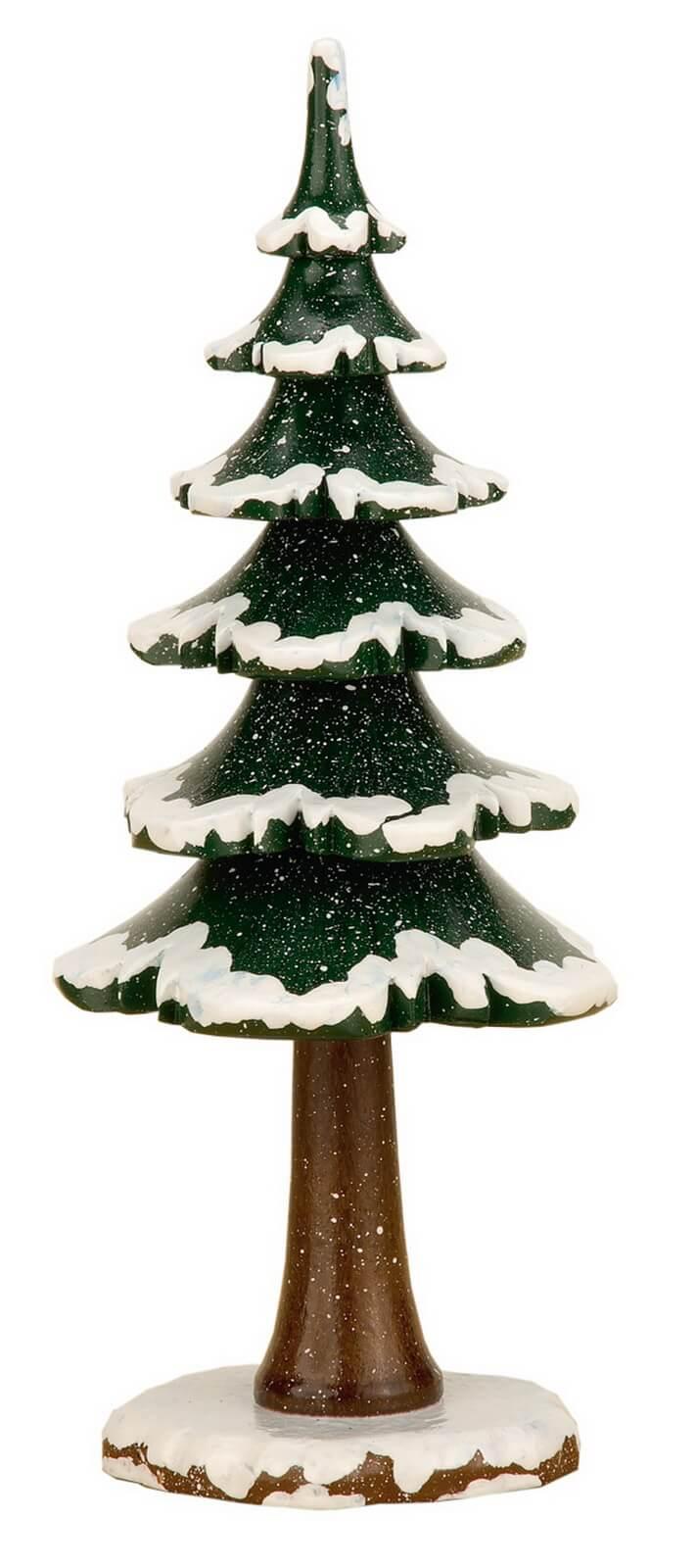 Winterkind Winterbaum von Hubrig Volkskunst GmbH Zschorlau/ Erzgebirge ist 19 cm groß.