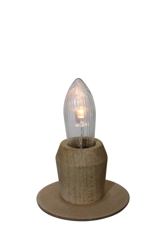 LED Spitzkerzen, 2 Stück, 0,2 Watt / 10 - 55 V, passend für die Schwibbögen N650LED, N650KLED, N651LED, N652LED, N653LED, N655LED, N658LED, N658KLED, N670LED, …