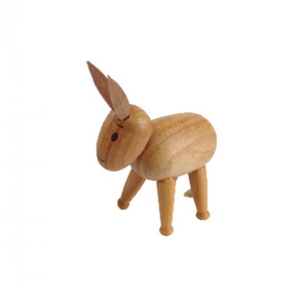Esel, 7 cm, Spielwarenmacher Günther Seiffen/ Erzgebirge