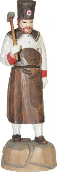 Schmied, farbig, geschnitzt, in verschiedenen Größen