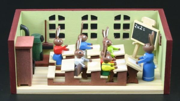 Miniaturstübchen Hasenschule Lehrerin von Gunter Flath