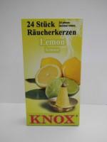 Vorschau: Räucherkerzen - Lemmon, 24 Stück pro Packung von KNOX - Apotheker Hermann Zwetz