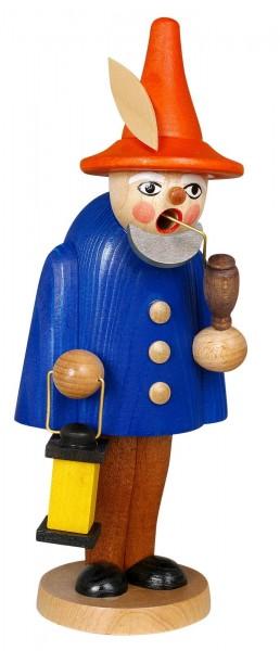 Räuchermännchen Wichtel, blau, 19 cm von Jan Stephani