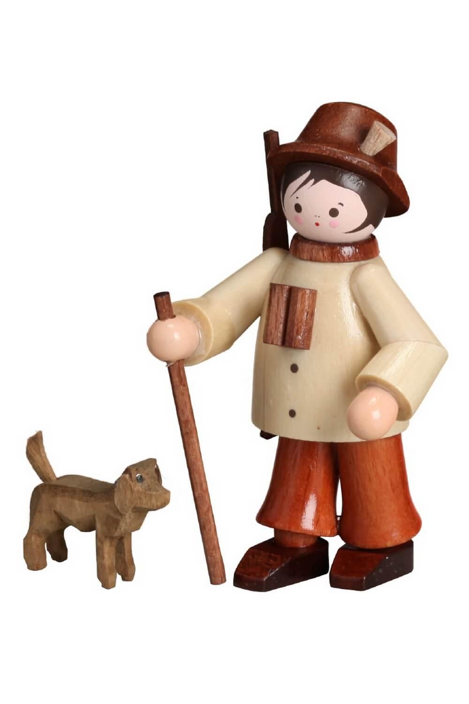 Miniatur von Romy Thiel Jäger mit Hund, natur