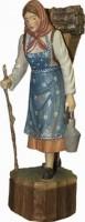 Vorschau: Waldfrau, geschnitzt von Schnitzkunst aus dem Erzgebirge_Bild1