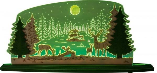 Weigla LED Motivleuchte Waldidylle