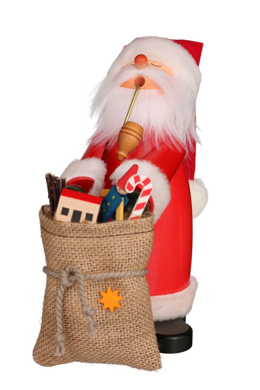 Räuchermännchen von Christian Ulbricht Schlafmütze Weihnachtsmann, 18 cm