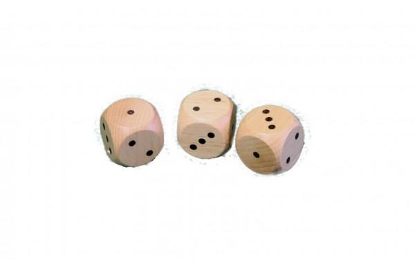 Bei diesen besonderen Würfeln sind jeweils 2 mal 1-3 Augen aufgedruckt. Lassen Sie Ihrer Phantasie freien Lauf und erstellen Sie neue Spiele und Regeln. Beim …