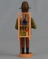 Vorschau: Räuchermännchen Glasträger, 21 cm von Räuchermann Manufaktur Merten aus Seiffen/ Erzgebirge. Höhe: ca. 21 cm Material: heimische Hölzer aus dem Erzgebirge, …