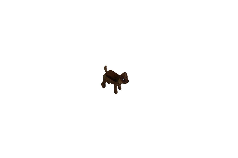 Hund von Romy Thiel, gebeizt_Bild1