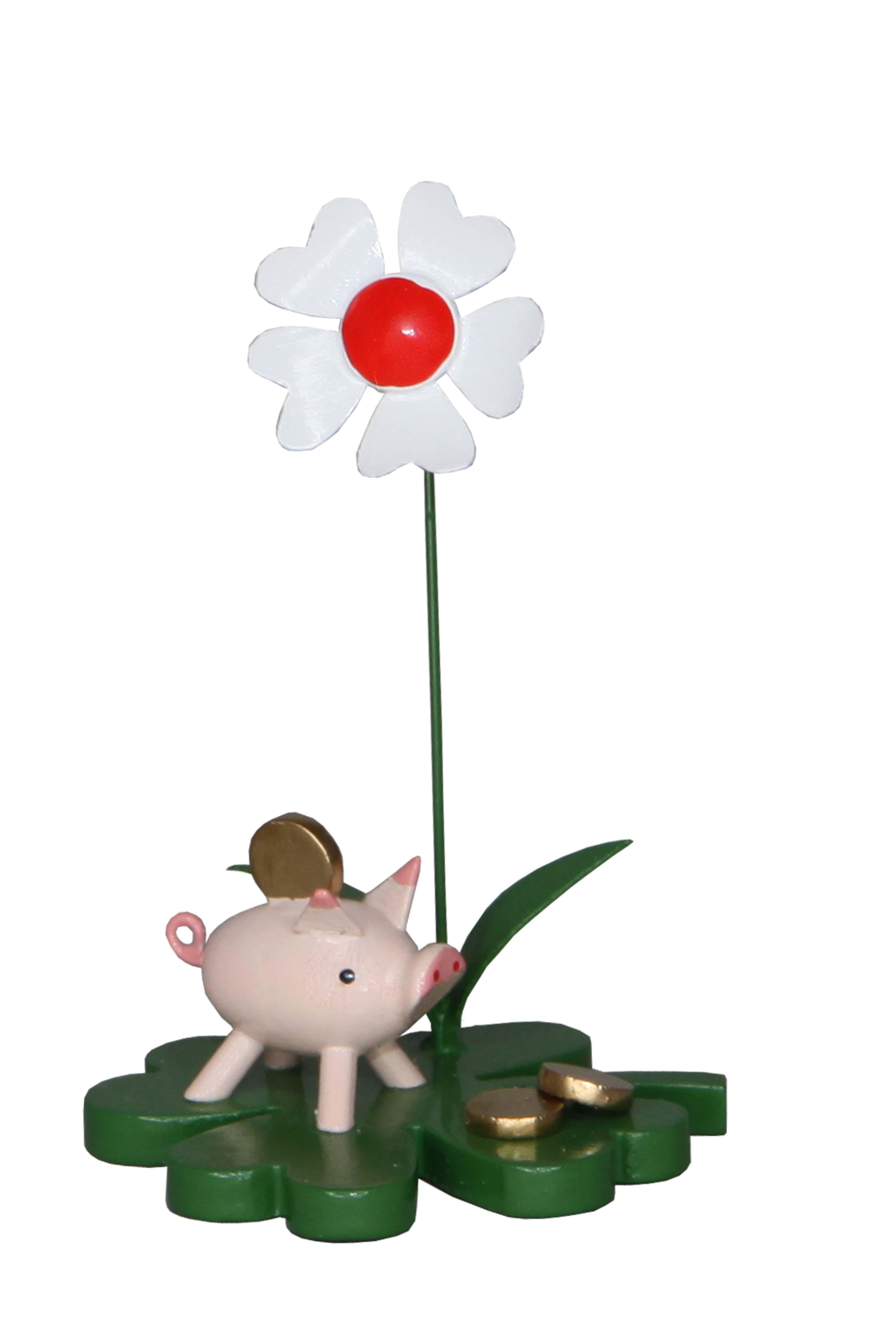 Zenker Glücksbringer Sparschwein, 7 cm