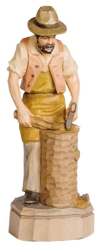 Holzhacker, bunt, geschnitzt, in verschiedenen Größen