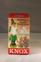 Vorschau: Räucherkerzen - Weihrauch-Sandel, 24 Stück pro Packung von KNOX - Apotheker Hermann Zwetz