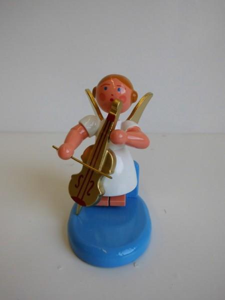 Weihnachtsengel mit Cello von WEHA-Kunst