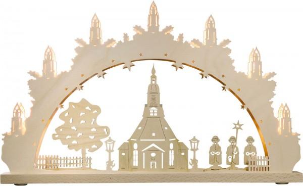 Weigla Schwibbogen Seiffener Kirche