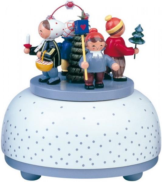 Spieluhr & Spieldose Winterkinder von KWO