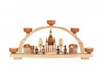 Vorschau: Knuth Neuber, Schwibbogen Frauenkirche Dresden für Teelichter_Bild1