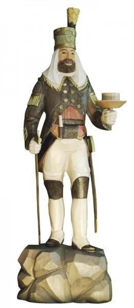 Annaberger Obersteiger, farbig, geschnitzt, in verschiedenen Größen