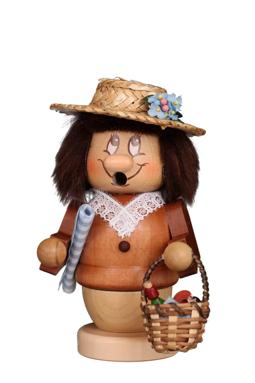 Christian Ulbricht Räuchermännchen Miniwichtel Sommerfrische, 13 cm