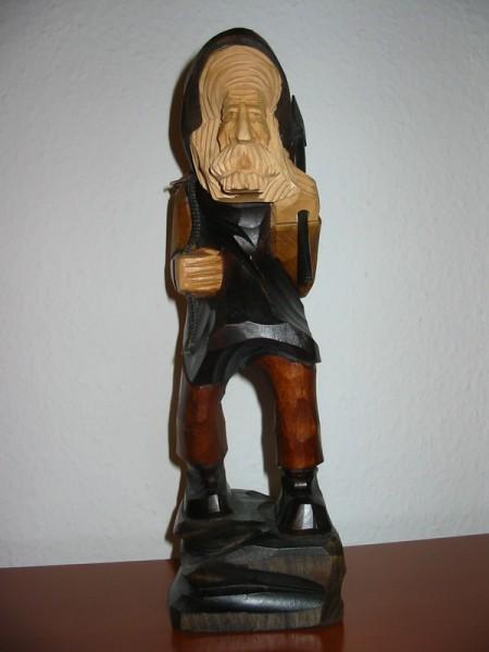 Weihnachtsfigur Holzmichel, geschnitzt, 28 cm, Nestler-Seiffen.com OHG Seiffen/ Erzgebirge