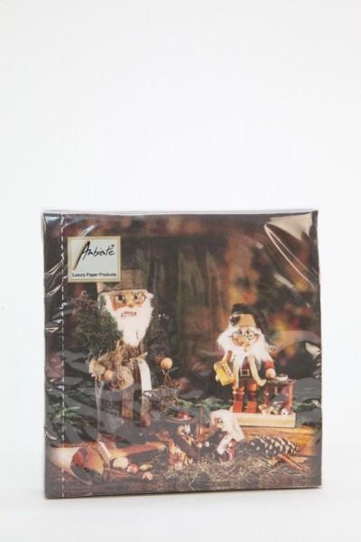 Weihnachtsservietten Nussknackermotiv von Christian Ulbricht, 20 Stück, Christian Ulbricht GmbH & Co. KG Seiffen/ Erzgebirge