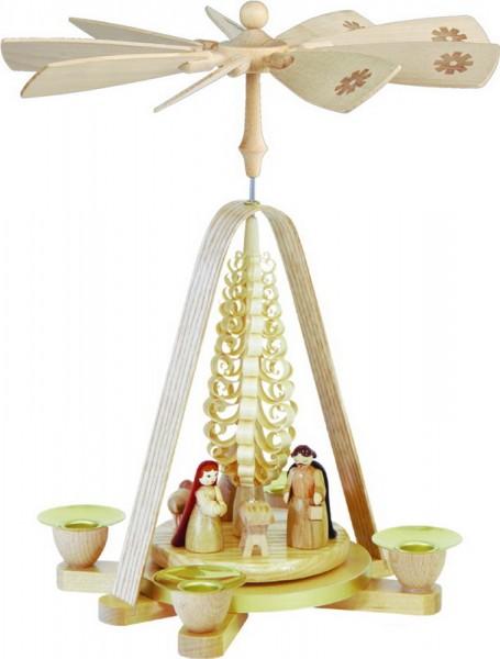 Weihnachtspyramide Christi Geburt, 28 cm, Richard Glässer GmbH Seiffen/ Erzgebirge