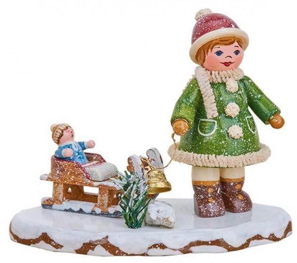 Winterkind Oh, es schneit, es schneit von Hubrig Volkskunst