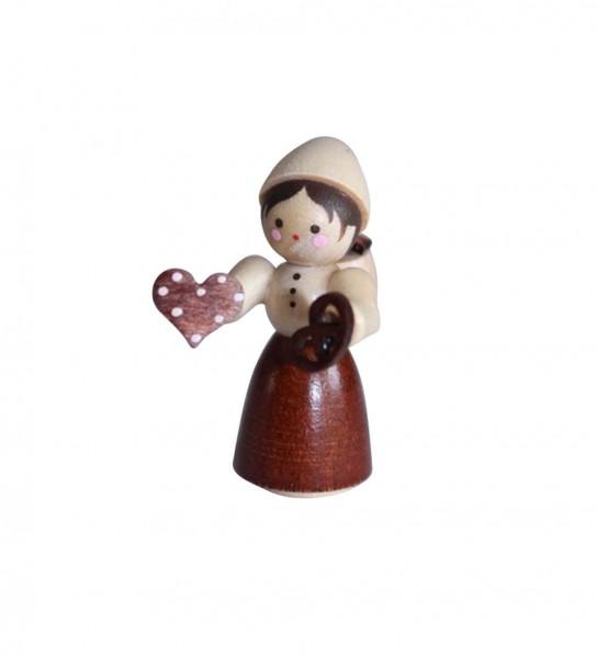Pfefferkuchenhändlerin, mini von Romy Thiel, hergestellt im Erzgebirge_Bild1