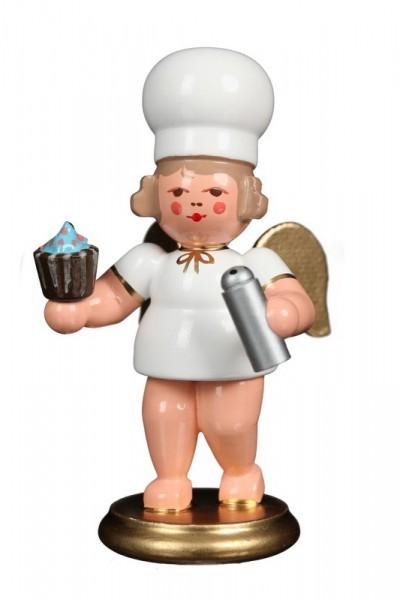 Weihnachtsengel Bäckerengel mit Cupcake von Christian Ulbricht