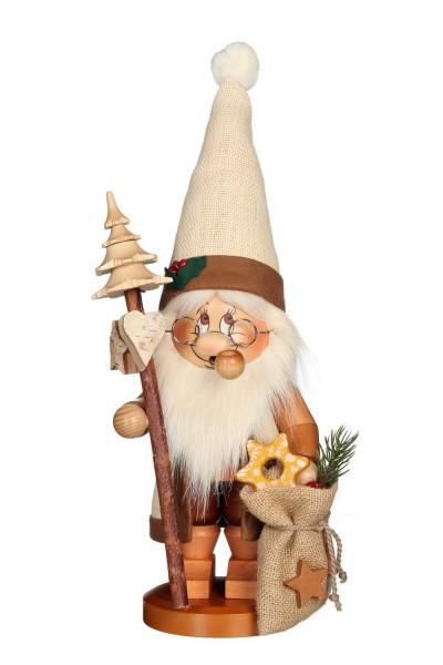 Räuchermännchen Wichtel Weihnachtsmann mit Stab mit seinem freundlichen Gesicht und der typischen Knubbelnase von Christian Ulbricht GmbH & Co KG …