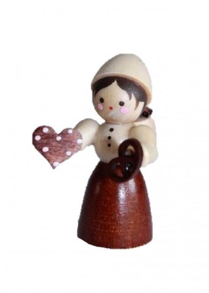 Die Pfefferkuchenhändlerin, mini in natur von Romy Thiel Deutschneudorf/ Erzgebirge, gehört zu Weihnachten einfach mit dazu. Hmmm..... dieser Duft von …