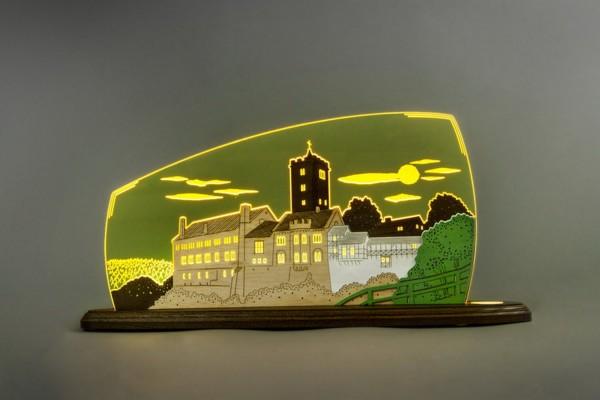 """LED Motivleuchte Wartburg von Weigla - Günter Gläser Deutschneudorf/ Erzgebirge Die Motivleuchte """"Wartburg"""" besteht aus gelbscheinendenflourescent …"""