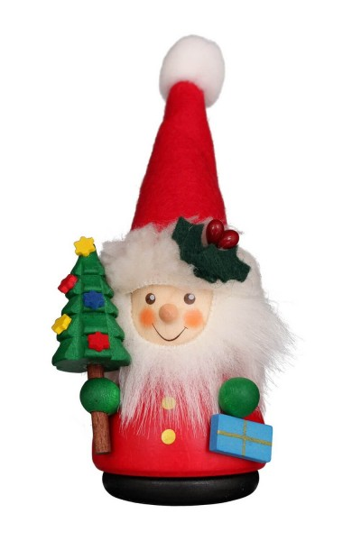 Wackelmännchen Weihnachtsmann, farbig von Christian Ulbricht GmbH & Co KG Seiffen/ Erzgebirge ist 12 cm groß. Mit einem toll geschmückten …