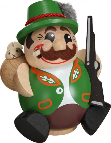 Das Kugelräuchermännchen Jäger von Seiffener Volkskunst eGSeiffen/ Erzgebirge. Dieser Räuchermann gehört zur Serie die lustigen Kugelräucherfiguren …