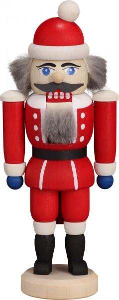 Ho, Ho, Ho ... Wer kommt dennn da von draussen rein ? Der Nussknacker Weihnachtsmann, 14 cm von der Seiffener Volkskunst eG Seiffen/ Erzgebirge. Dienten …