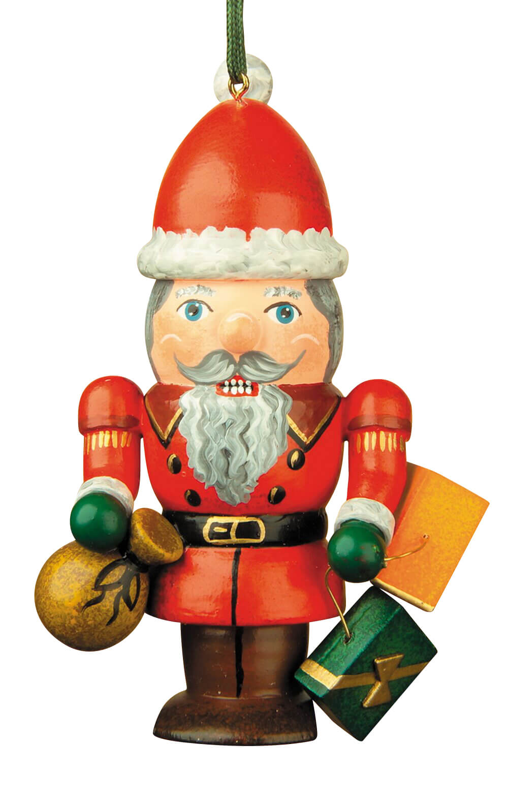 Christbaumschmuck von Hubrig Volkskunst Nussknacker Weihnachtsmann