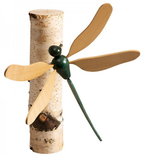 Dekofigur Libelle, 22 cm von Robbi Weber Seiffen/ Erzgebirge