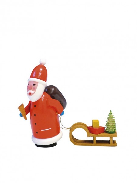 Knuth Neuber, Weihnachtsmann, farbig, 10 cm