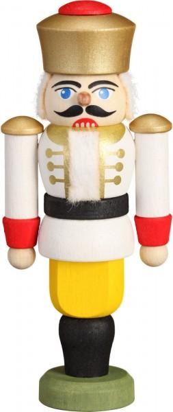 Darf ich vorstellen: Ihre Majestät der Nussknacker König in weiß, 9 cm von der Seiffener Volkskunst eG Seiffen/ Erzgebirge. Dienten früher die …