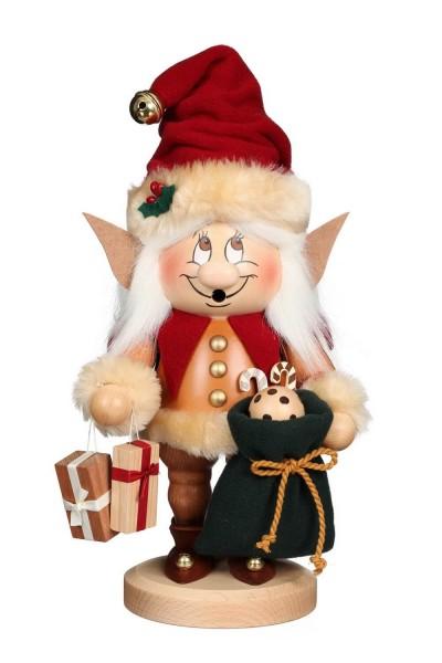 Ulbricht Wichtel Weihnachtselfe, 32 cm - Räuchermännchen aus Seiffen