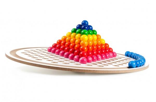Na, wer kann es am besten? Dieses tolle große Balancierbrett von SINA Spielzeug Neuhausen/Erzgebirge, läßt nicht nur die Kleinen mit dem Gleichgewicht …