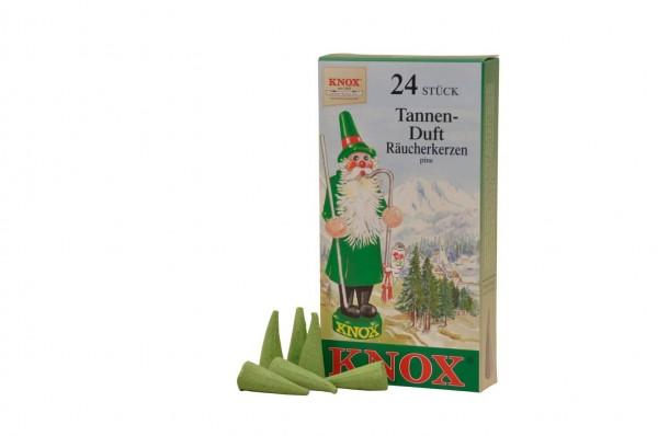 Räucherkerzen - Tannenduft, 24 Stück von KNOX