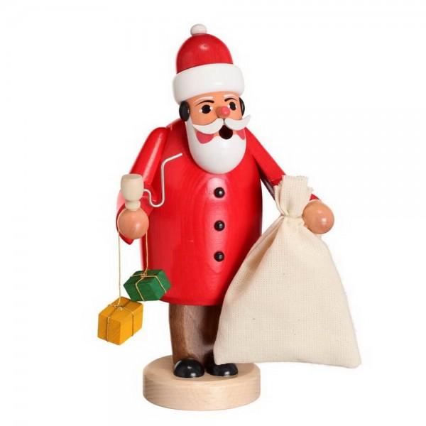 Räuchermännchen Ruprecht mit Stumpf von Karl Werner Sayda / Erzgebirge In seiner Weihnachtsmannkleidung macht er sich auf den Weg zu den Kindern. Den …