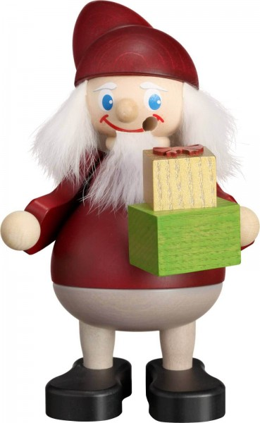 Räuchermann Weihnachtsheinzel mit Geschenk, 15 cm von Seiffener Volkskunst eG Seiffen/ Erzgebirge Der Räuchermann , auch Räuchermännchen , oder auf …