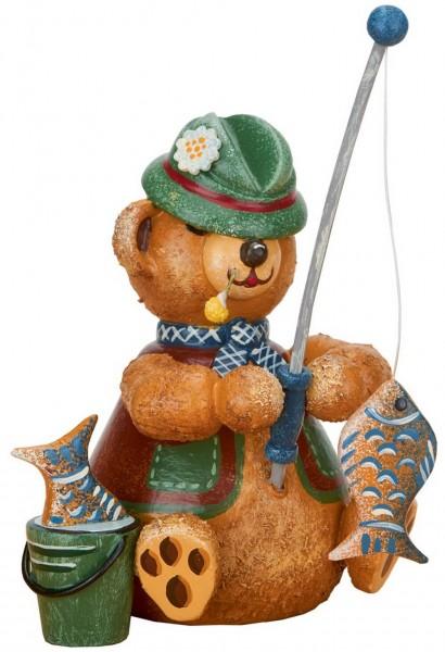 Teddy Angler aus Holz aus der Serie Hubiduu Teddy von Hubrig