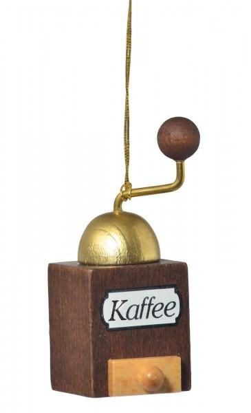 KWO Christbaumschmuck Kaffeemühle zum Hängen für den Weihnachtsbaum